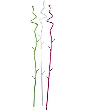 Soporte para orquídeas, tallo, palo, barra y soporte, paquete de 3 a