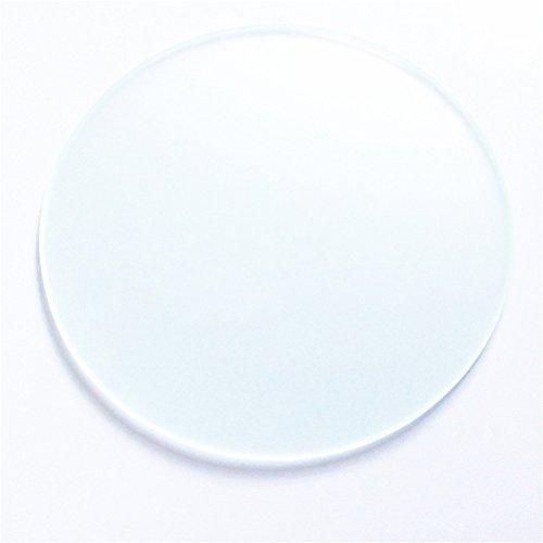 Kossel 310mm 3d Printer Kit Accessory for Rostock Max Delta Kossel Mini Borosilicate Glass Plate Round 3mm Thick Borosilicate Glass Board