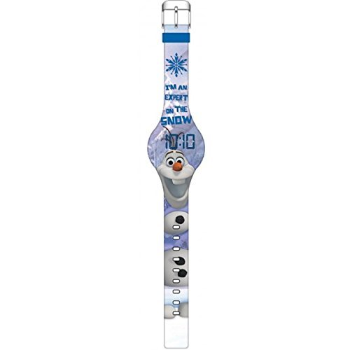 Disney Frozen Olaf Expert On the Snow LED Watch