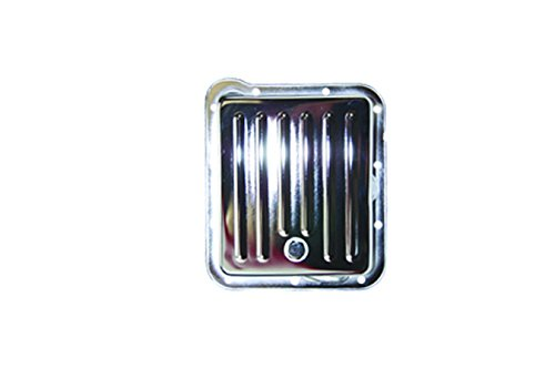 SPC Performance 7600 Chrome Transmission Pan for Ford - Pan Transmission C4