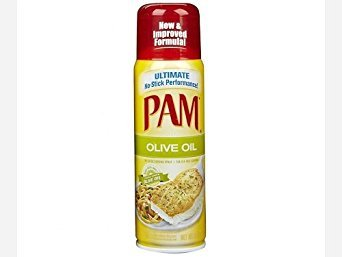 Pam Olive Oil Cooking Spray, 5 Ounce (3 Pack)