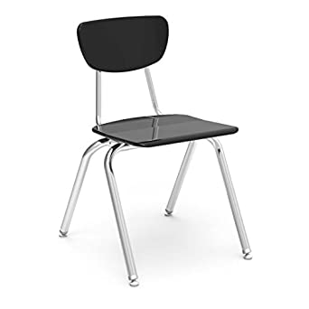 Amazon.com: Virco Student Chair, Black, 18\