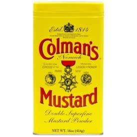 Coleman's Dry Mustard Powder, 16 Ounce