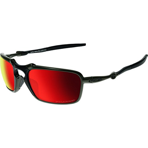 d08aa99acf ... usa oakley mens badman oo6020 03 polarized iridium rectangular  sunglasses dark carbon 60 mm 97d4d a8128