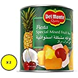 Del Monte Fiesta Mixed Fruit In Syrup, 2 x 850 gm