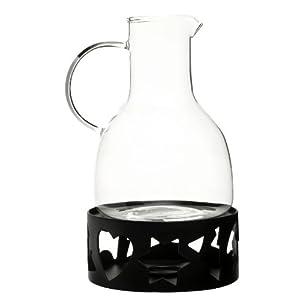 Sagaform 5015683 Glass Carafe with Warmer