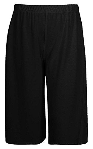 Pantalon Femme Noir 4 Culotte 3 Longueur Palazzo Large Girlzwalk RIScqBwZB