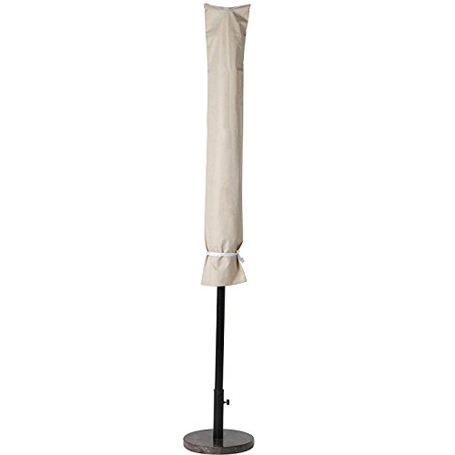 Grand patio Outdoor Market Umbrella Cover with Drawtrings, Water Resistant, Beige by Grand patio