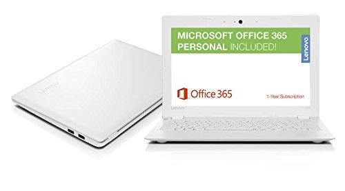 "Lenovo Ideapad High Performance 11 6"" HD PC, 1-Year Office 365"