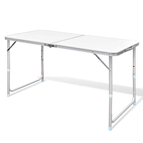 BestHomeFuniture Folding Catering Camping Trestle Picnic Dinner Party Table, 47.2'' by BestHomeFuniture