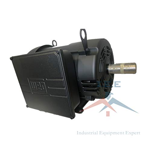 7.5 HP Air Compressor Duty Electric Motor 215T Frame 1760 RPM Single Phase WEG 00718OS1CCD215T ()