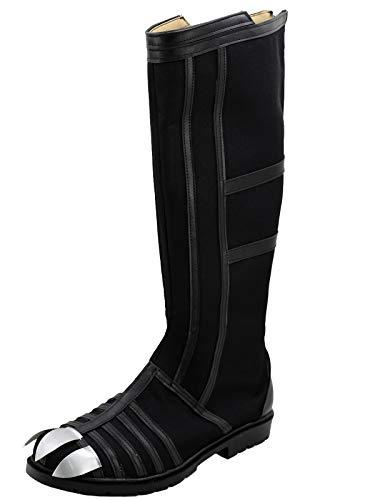 Civil War Foot Soldier Costumes - GOTEDDY Men Challa Black Boots Halloween
