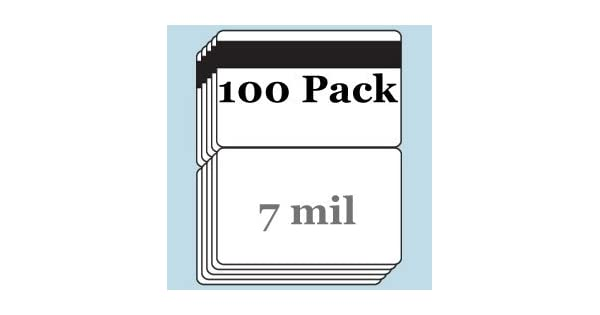 7 mil HiCo Mag Stripe CC-Size Butterfly Laminate Pouches for Teslin 25 pack