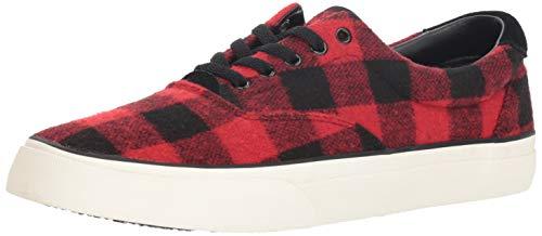 Lauren Black Sneaker Men's Ralph Thorton Red Polo 5Wnw7xx
