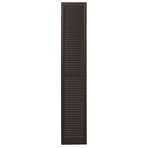 - Ply Gem Shutters and Accents VINLV1575 59 Louvered Shutter 15
