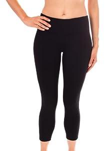 "90 Degree By Reflex 22"" Yoga Capris - Yoga Leggings - Yoga Capris for Women"