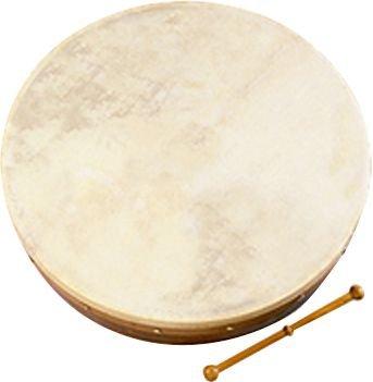 Traditional Irish 18 Plain Bodhran (Bodhran & Beater) Waltons Wal-6135