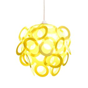 Yellow Funky Loopy Lampshade: Amazon.co.uk: Lighting:Yellow Funky Loopy Lampshade,Lighting
