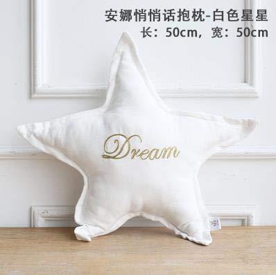 Bureze Miz Home Anna Series - Cojín Bordado de algodón para ...