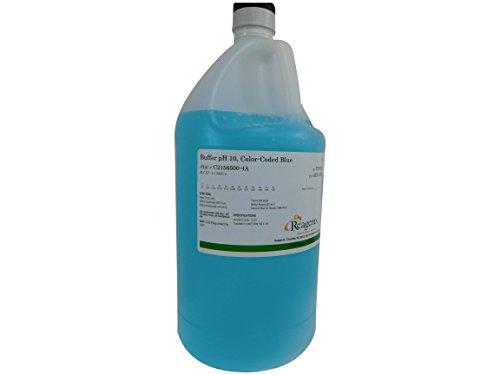 Reagents C2156500-4A Buffer, pH 10.00, Blue Volumetric, Grade, 4 L