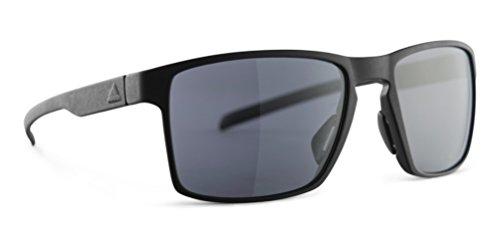Adidas Wayfinder Sunglasses 2018 Black Matte Frame/Gray Lenses (Adidas Sports Sunglasses)