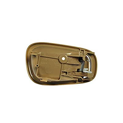Replacement Front Left Driver Side Beige Door Handle for 1998-2002 Toyota Corolla TO1352165 (1998, 1999, 2000, 2001, 2002): Automotive