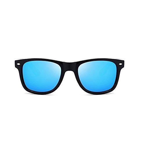 Ice Black Couleur Nouvelles Polarizer Orange Box Mode Conduire Classique Miroir Hommes Sunglasses Sauvage de Blue Box Lunettes Soleil Black qTfFxH