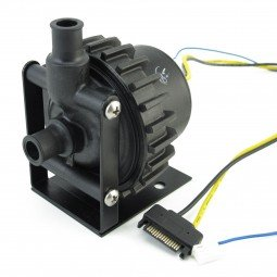 XSPC D5 Vario Pump with SATA power and Front Cover (1/2'' Barbs) by XSPC