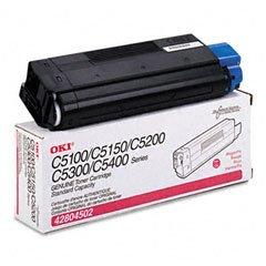 (42804502 -N Okidata Toner Magenta C5100 C5200 C5300 C5400 (3k pgs) C5150 C5510 MFP (C5100N, C5150N, C5200N, C5300N, C5400N))