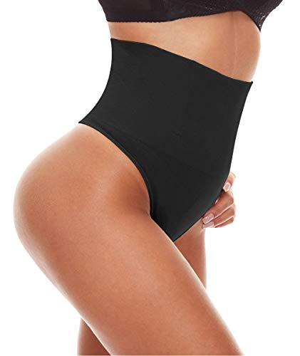 33873274dd LANFEI Women Waist Cincher Underwear Tummy Control Thong Shapewear Panties