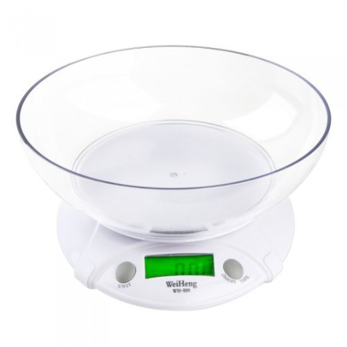 7KG-1G Digital Electronic Scale Kitchen Home House Food Balance Weight With Bowl LED Backlight FamilyMall
