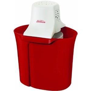 Cheap Sunbeam RIVAL 4QT ICE CREAM MAKER-RED