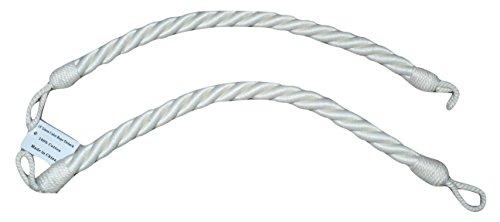 Drapery Curtain Rope Tieback, 15