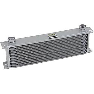 Earl's 41300ERL 13 Row Oil Cooler Core Grey (Earls Oil Coolers)