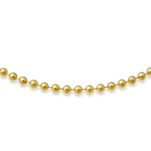 Kugelkette aus 333er Gelbgold