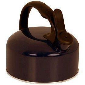 Ekco 1176045 BLK 2.5 Quart Tea Whistling Kettle - Pack of 2