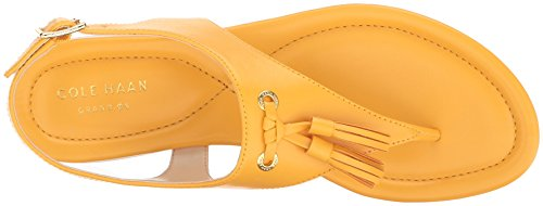 Cole Haan Womens Rona Grand Flat Sandal Nectar