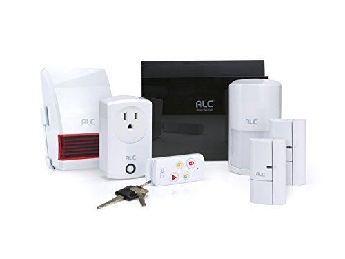 ALC Wireless Security System Kit White ALC-AHS616