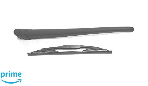 Brazo y escobilla de limpiaparabrisas trasero de ajuste exacto 31 cm RA801: Amazon.es: Coche y moto