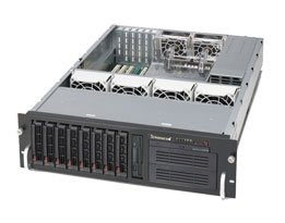 Supermicro Rackmount Server Chassis (CSE-833T-653B) by Supermicro (Image #1)