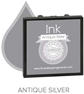 product image for Three Designing Women - Replacement Ink Pad (Antique Silver)