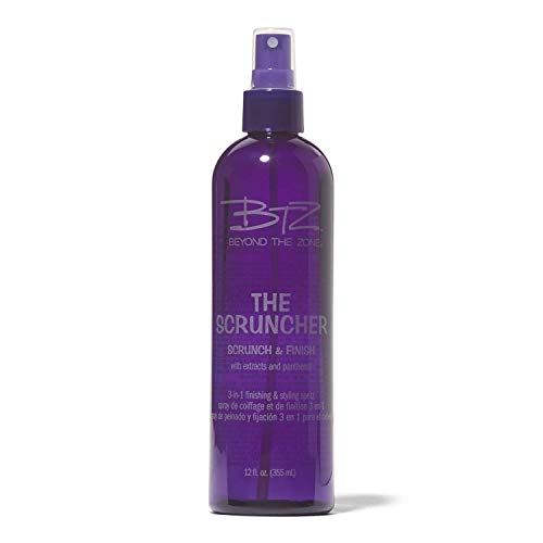 The Scruncher 3-in-1 Spray (Best Mousse For Scrunching Straight Hair)