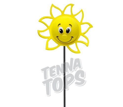 Mirror Dangler Tenna Tops Happy Sun Sunshine Car Antenna Topper