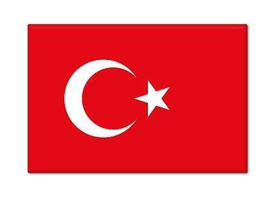 Turkish Flag Turkey Fridge Magnet