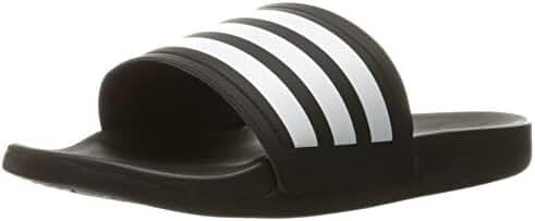 adidas Performance Women's Adilette CF Ultra Stripes C W Athletic Sandal