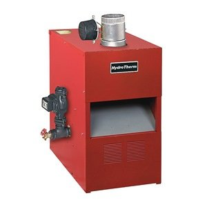 Gas Fired Boiler, NG/LP, 27 In. D, 32 In. H by Hydro Therm