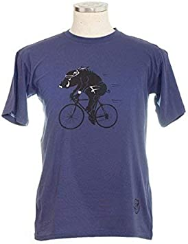 Io vivo in italia Wildschwein - Camiseta para bicicleta de ...