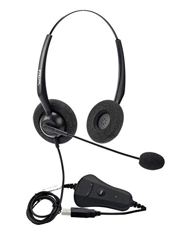 *astTECS HS100 USB headsets for Call Centres, Home, Online Classes