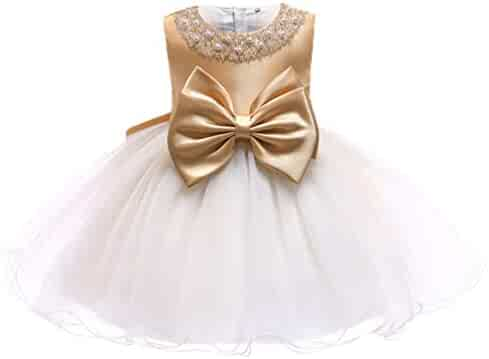 dfc7c0369 Princess Tulle Tutu Girl Dress Wedding Pageant Party Baby Dresses Age 3-9  Years
