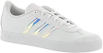 adidas Unisex-Child Boys - Vl Court 2.0 Size: 2 M US Little Kid